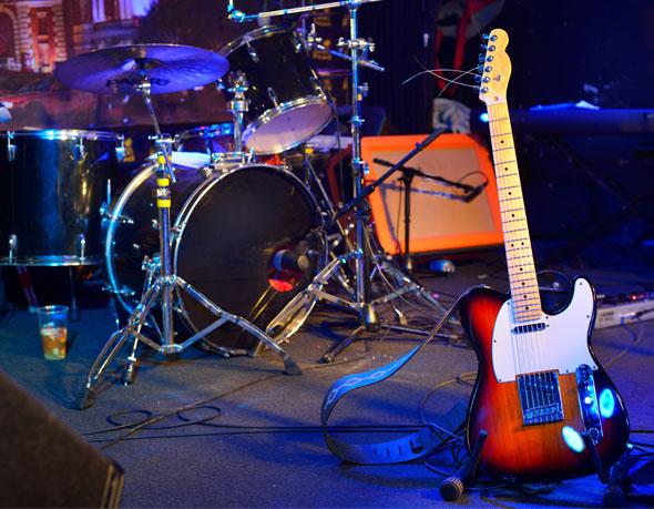 Instruments et matériel rock and roll